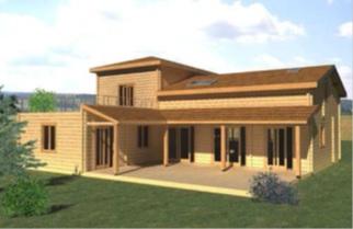 construction de maison en bois constructeur maison bois maisons bois tb environnement. Black Bedroom Furniture Sets. Home Design Ideas