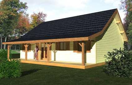 Mod les de maisons mont dore for Maison plan de campagne